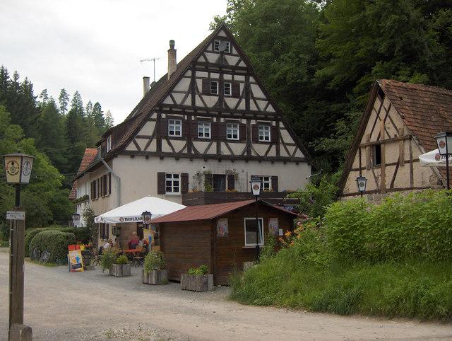 Siebenmühlental: Kochenmühle