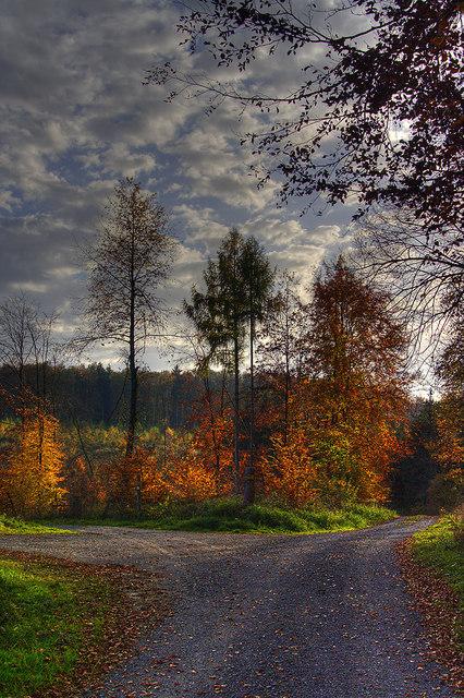 Herbst beim Roten Brunnen