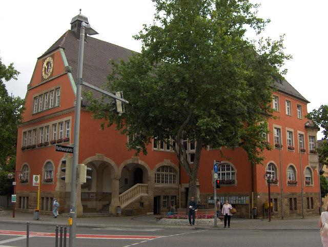 Vaihingen: Rathaus