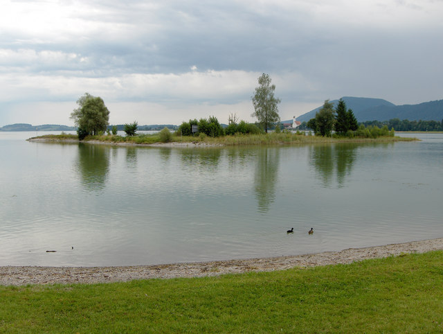 Insel im Forggensee