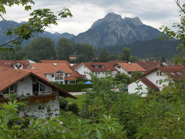 Promenadenweg in Füssen