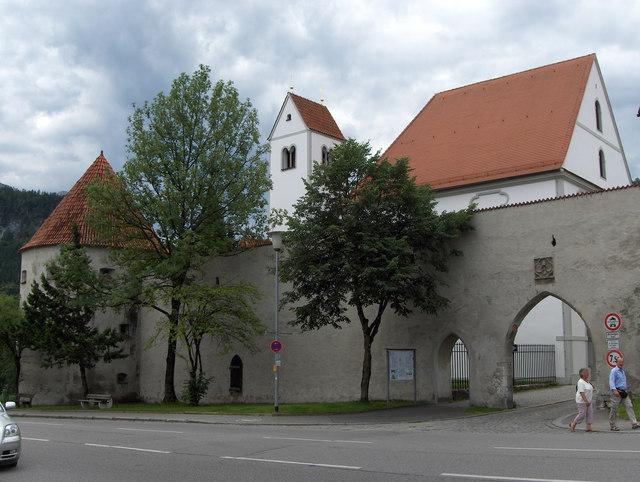 Sebastianstor in Füssen