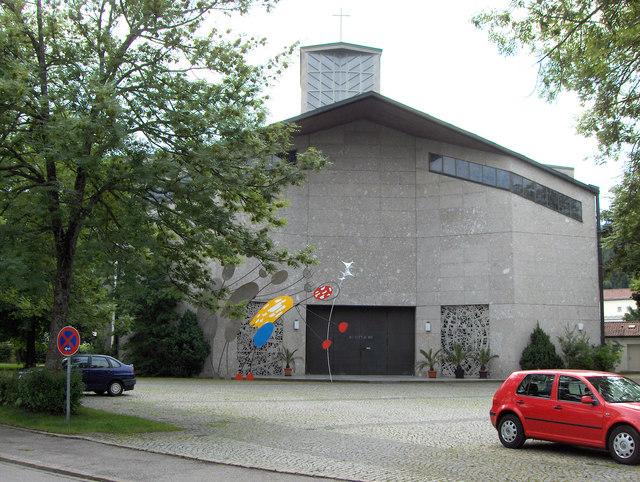 Kirche im füssener Westen