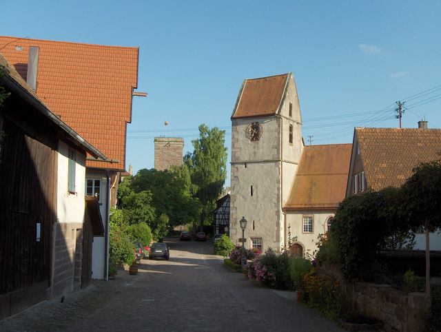 Zavelstein: Kirche und Burg