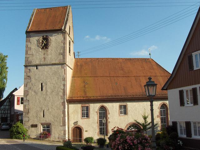 Zavelstein: Kirche