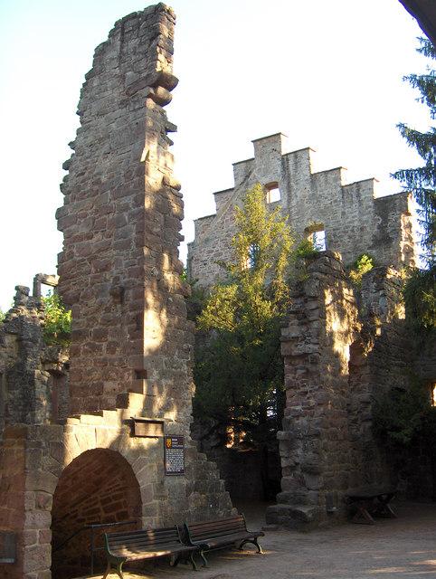 Zavelstein: Burg