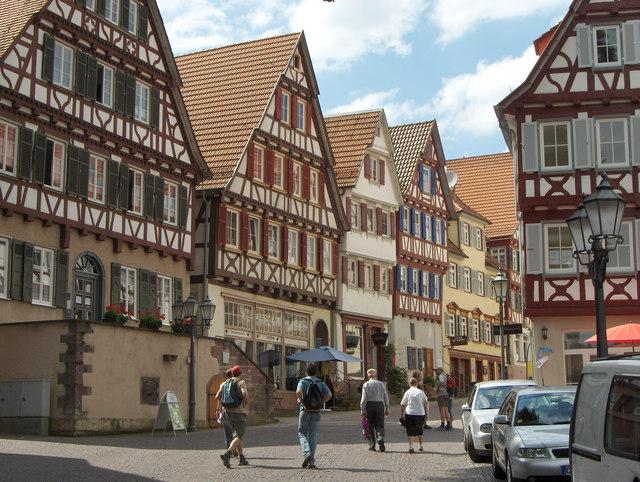 Calw: Altstadt