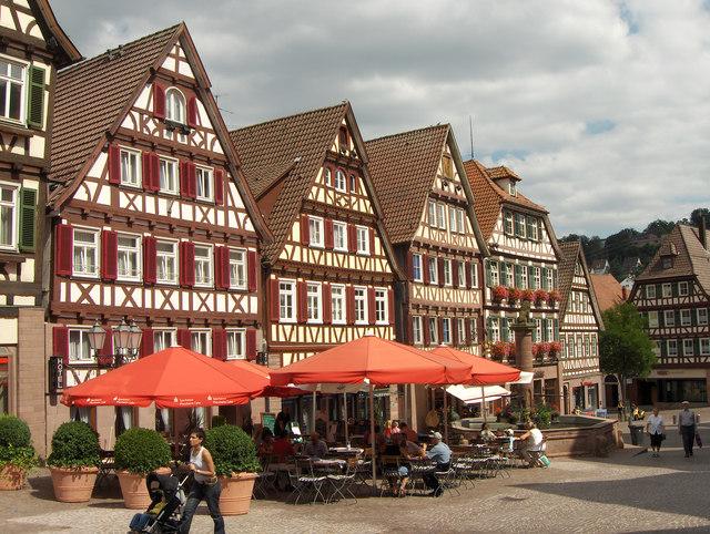 Calw: Marktplatz