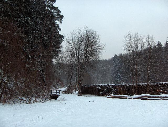 Brücke über den Schmellbach
