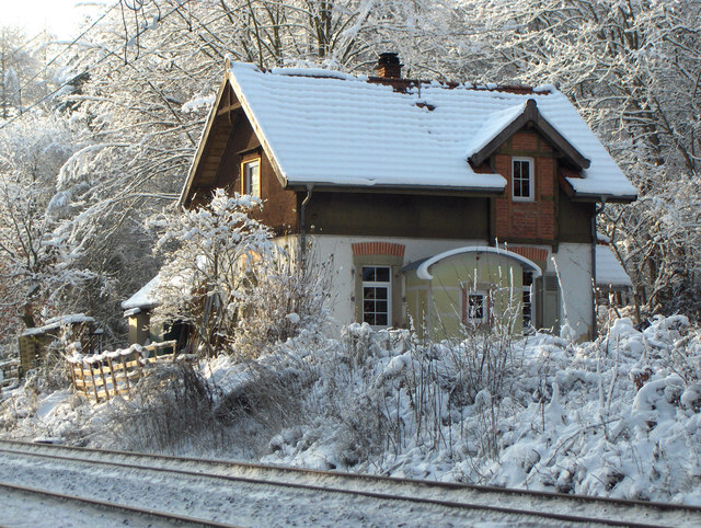 Haus an der Gäubahnstrecke