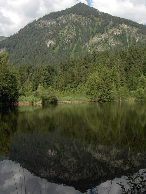 Moorweiher vor dem Schattenberg