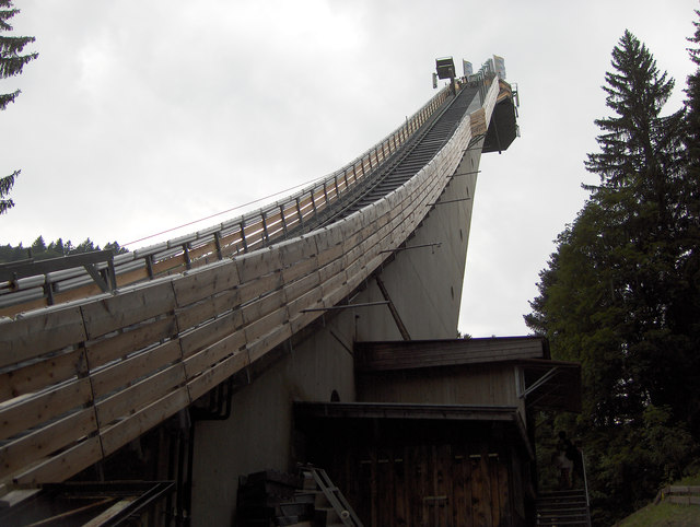 Oberstdorfer Skiflugschanze