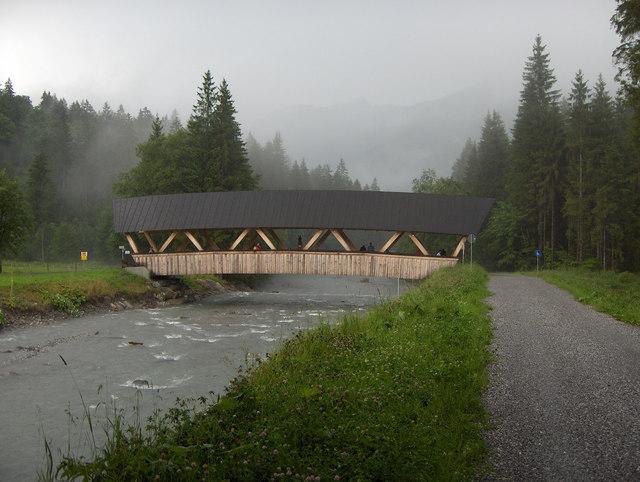 Brücke über die Stillach