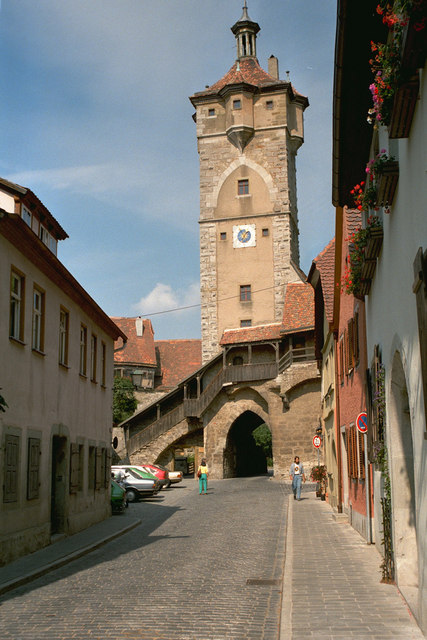 Klingentor, Rothenburg