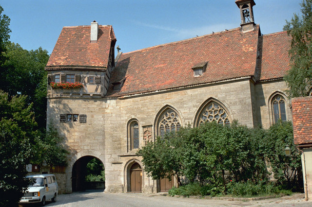 St.-Wolfgangs-Kirche, Rothenburg o.d. Tauber