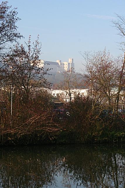Die Willibaldsburg vom Altmühl-Ufer