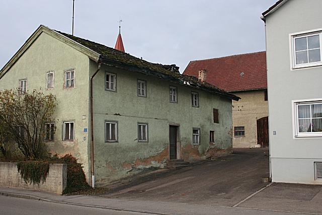 Haus mit Kalkdach