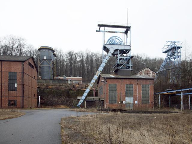 Grube Itzenplitz, Heiligenwald