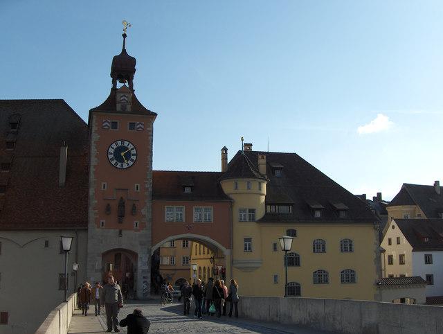 Regensburg: Brückturm
