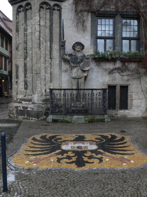 Roland in Quedlinburg