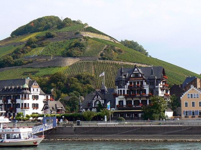 Hotel Krone,  Assmannshausen