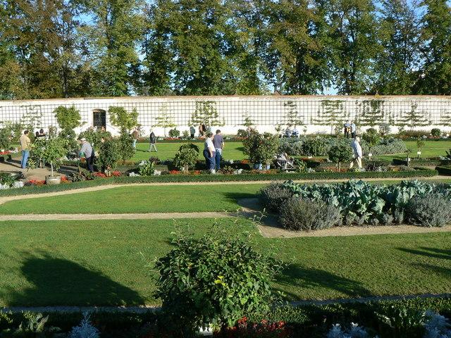 Garten, Kloster, Seligenstadt (Gardens, monastery, Seligenstadt)