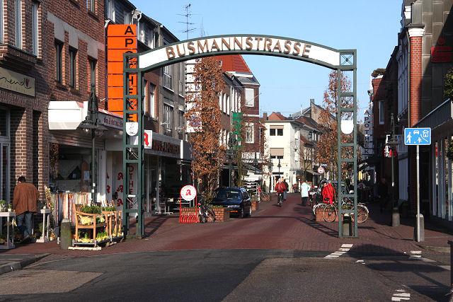 Zugang zur Busmannstraße, Kevelaer