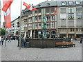 UMA7750 : Gerechtigkeitsbrunnen (Fountain of Justice), Altstadt, Frankfurt von Brian Robert Marshall