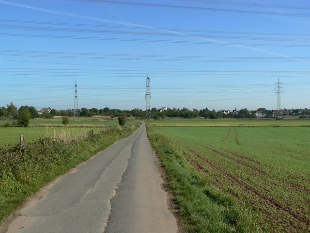 Blick Richtung Urberach (View towards Urberach)