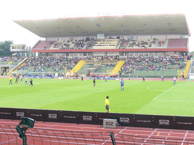 Hertha bei Friedrich Ludwig-Jahn Stadion