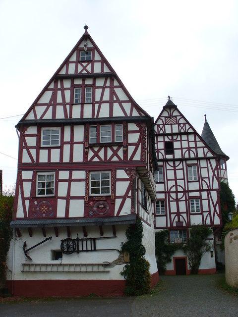 Alte Fachwerkhauser, Puenderich