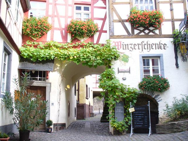 Stadttor und Winzerschenke, Beilstein