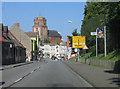 UVV1990 : Chausseestraße & St Petri Kirche, Wolgast von Rodney Burton