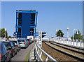 UVV2090 : Waiting for the 'Blaues Wunder' Peenebrücke, Wolgast von Rodney Burton