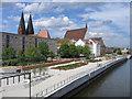 UVT6999 : Oderpromenade, Frankfurt (Oder) von Rodney Burton