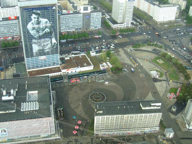 Alexanderplatz, Berlin Mitte