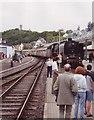 UMA6558 : Steam train at Kronberg station von Sebastian und Kari