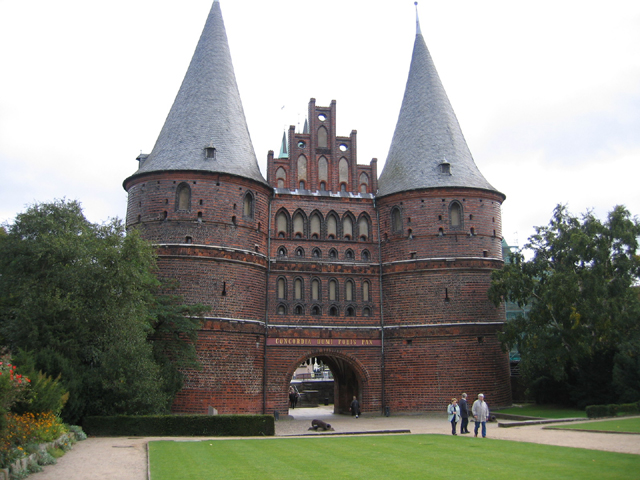 Holstentor city gates & museum, Lübeck