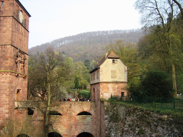 Bridge entrance to the castle