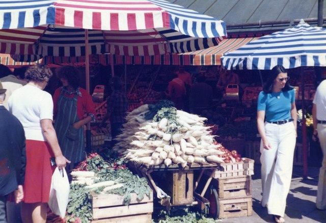 Marktplatz, Munchen 1978