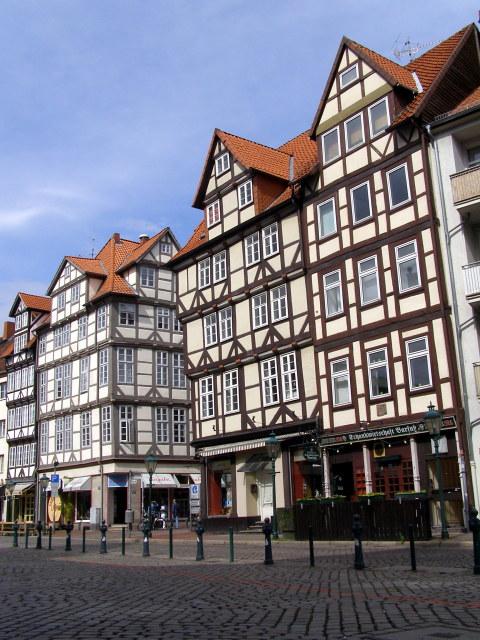 Half-timbered buildings, Holzmarkt