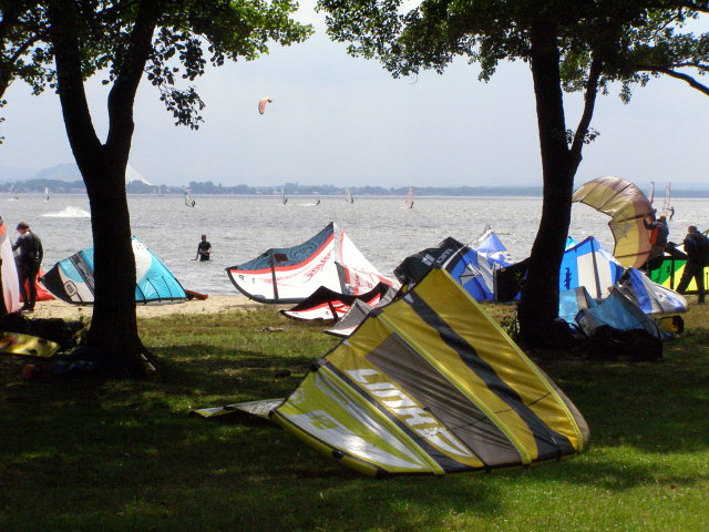 Water sports on the Steinhuder Meer