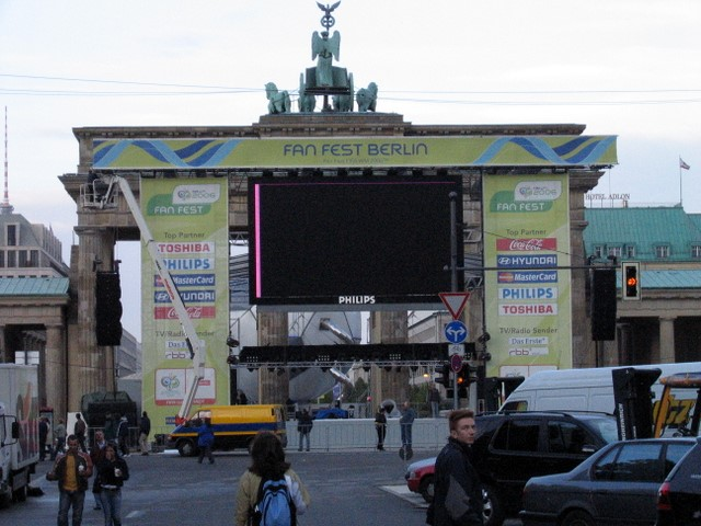 Brandenburger Tor Fan Fest