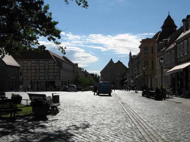 Kyritz - der Marktplatz