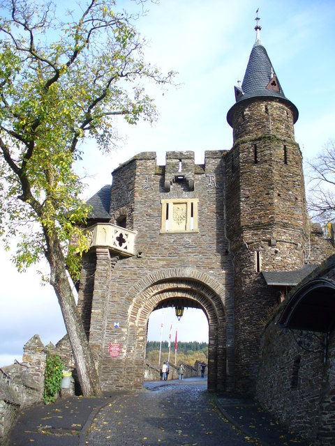 Einlass, Reichsburg Cochem
