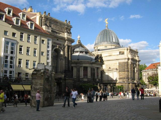 An der Frauenkirche, Dresden
