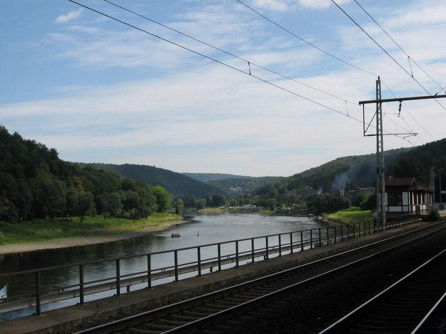 Die Elbe, Königstein