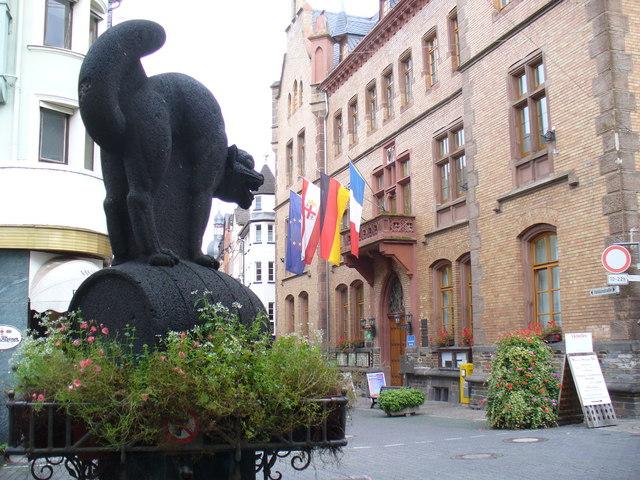 Rathaus, Zell