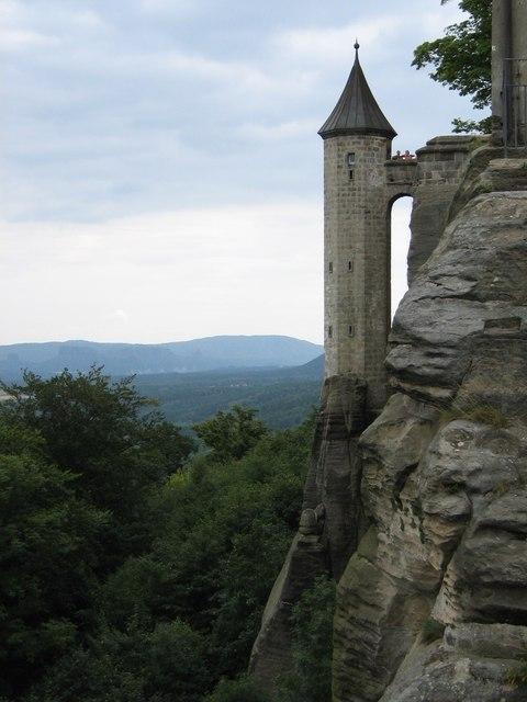 Wald und Festung Königstein