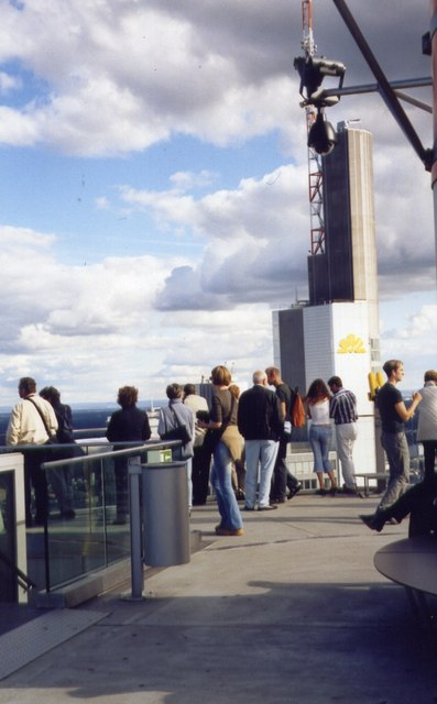 Viewing platform & Commerzbank tower